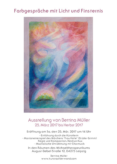 Bettina Mueller Plakat A4 2017