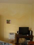 Lasierte Wände